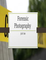 forensic photography lecture 1 introduction Forensic science (frsc) 1 forensic science lecture frsc 201: introduction to criminalistics 3 credits forensic photography.
