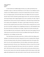 English jane eyre paper