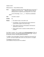 court visit report essay
