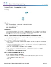 2.1.4.8 Packet Tracer - Navigating the IOS Instructions  FINISHED