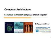 Son-CA_lec2_1_Instruction Language of the Computer
