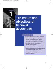 the nature of financial accounting