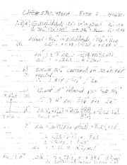 Exam 2 Answers CHEM 5843 3-15-2011