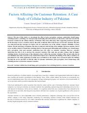 Factors Affecting On Customer Retention_A Case Study of Cellular Industry of Pakistan-21.pdf (base p