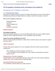 Science in Action Notes_ Environmental Chemistry (2