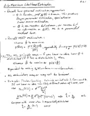 PHYS 140Y Maximum Likelihood Estimation Notes