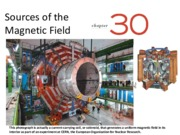 Ch 30-Sources of the magnetic Fields