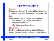 Operability and Expansions