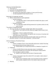 Critical Reasoning Unit Notes 2