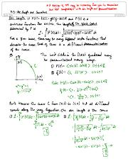 13.3 Arc Length and Curvature
