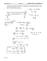 ES230-2011-Final-Exam-Solution on Strength of Materials