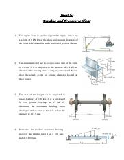 Assignment 4 - Bending and Transverse Shear