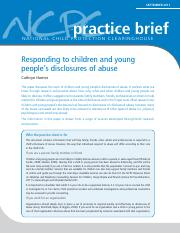 Responding to Chn and Young Peoples Disclosure of Abuse.pdf