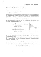 Chapter 6 - Applications of Integration [Ans]