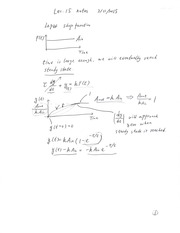 Lecture 15 classnotes