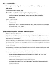 Intersectionality and SES notes.pdf
