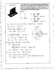 898_Mechanics Homework Mechanics of Materials Solution
