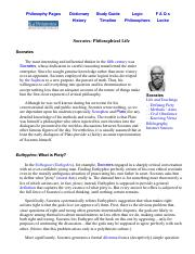 Socrates_ Philosophical Life.pdf