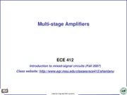 multistageamp