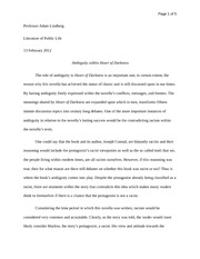 Thesis Persuasive Essay Essay Darkness Netzari Info Heart Of Darkness Impressionism Why The  Blurriness For Modern Dawn Barnes Lord English As A World Language Essay also What Is A Thesis In An Essay University Of Alabama Essay  Going Green Essay  Testmartsaurus  Example English Essay