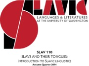 5 SLAV 110-HOW DO THE SLAVS WRITE