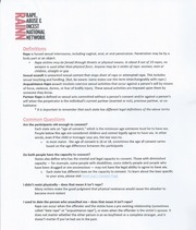 Sexual Assault Handout Page 1