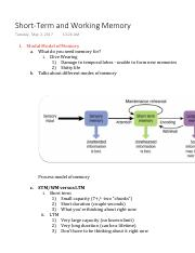 Short-Term and Working Memory.pdf