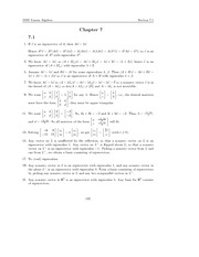 Linear Algebra by otto brestscher chapter 07 solutions