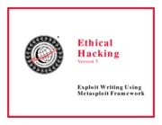 CEHv5 Module 23c - Exploit Writing