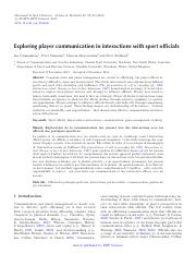 Exploring player communication in interactions with sport officials.pdf