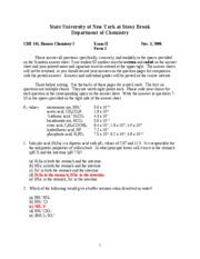 Chem(2006) II Exam