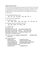 rulesExmS13 Study Guide_ Exam2