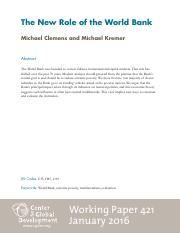 CGD-Working-Paper-421-Clemens-Kremer-New-Role-World-Bank