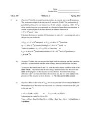 S13 135 Midterm 2 Solutions