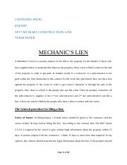 Mechanic's lien.docx