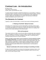 Contract Law--An Introduction.docx