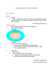 Study_Guide_for_Lecture_9_-_Product_development