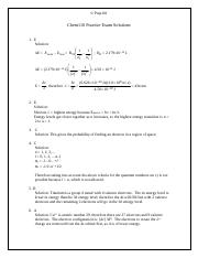 Chem110McGillsolutions