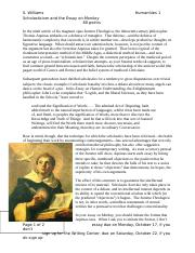 scholasticism and monkey essay