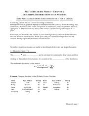 Chapter 02 Notes - Describing Distributions with Numbers.docx