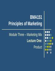 Lecture 6 Product