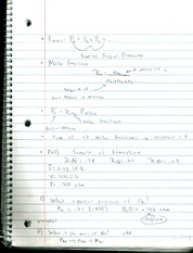 Chem 201 in class notes