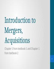 Lecture 1 Introduction to mergers and acquisitons.pptx