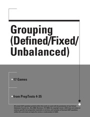 Grouping Defined Fixed Unbalanced