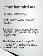 Urinary Tract Infections new(2)