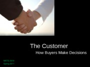 03__The Customer--How Buyers Make Decisions