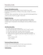 Unit 1 Study Guide Answer Key - Biology ANSWER KEY Unit 1 ...
