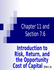 Chapter 11 and Section 7.6_Part I in class.ppt