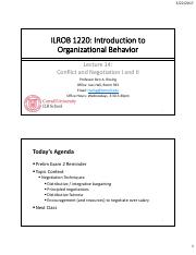 ILROB 2017 - Lecture 14 - Conflict and Negotiation I and II(1).pdf