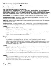 Comprehensive Review Sheet for 2361 Final.doc